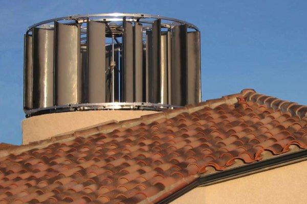 Afp la majorit des fran ais favorables aux petites oliennes en ville son - Eolienne domestique verticale ...