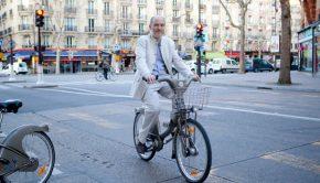 Denis Baupin à vélib'