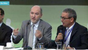 Denis Baupin à la conférence de presse à Bogota