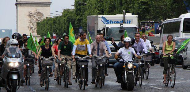 Anniversaire du velib - Champs Elysée