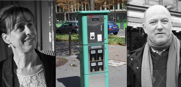Fabienne Keller et Borne-recharge-electrique-cc-Lionel-Allorge