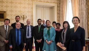 Déjeuner avec Rajendra Pachauri président du GIEC