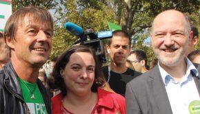 Marche pour le Climat avec Nicolas Hulot et Emma Cosse