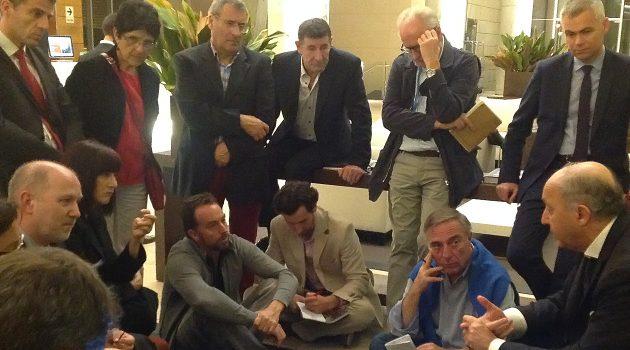 Débriefing avec Laurent Fabius, COP 21