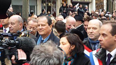 Manifestation post-attentat contre Charlie