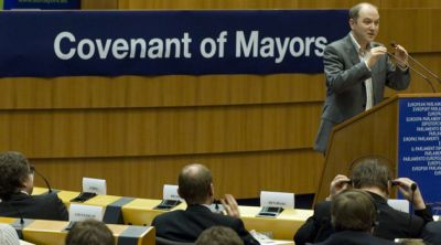 Convention des Maires pour le climat à Bruxelles