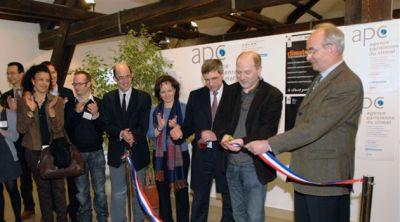 Inauguration de l'agence parisienne pour le climat, APC