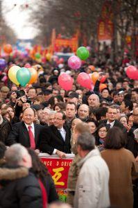 Nouvel An chinois, 13e arrondissement