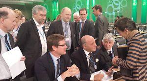 La délégation française pour la COP 19