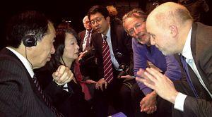 Rencontre avec Naoto Kan, premier ministre japonais au moment de la catastrophe de Fukushima