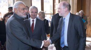 Rencontre avec Narendra Modi, premier ministre indien.
