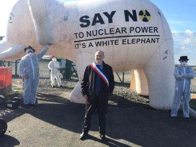 Hinkley, manifestation contre Hinkley Point, EPR, Grande-Bretagne