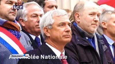 Hommage suite à l'attentat contre Charlie Hebdo